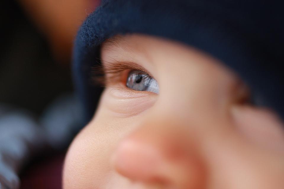 Detailaufnahme kleines Kind